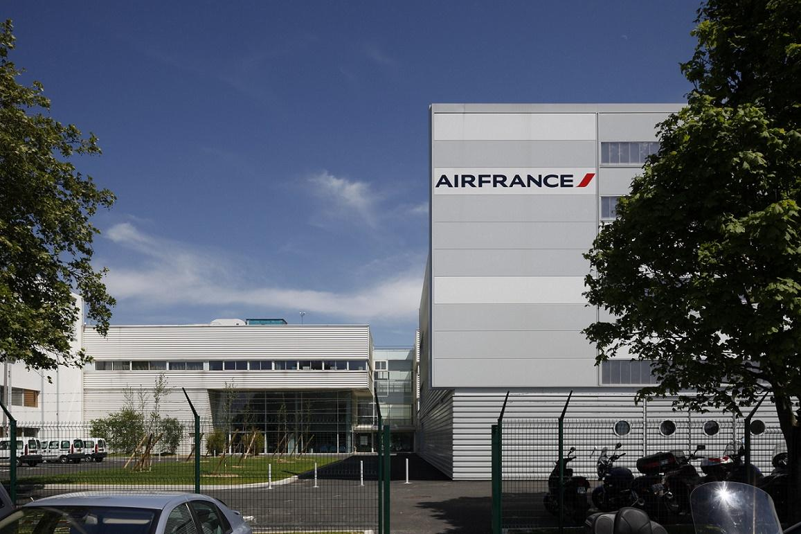 Simulateur de vol d'Air France - Roissy